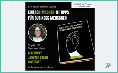 """Buch """"EINFACH MACHEN 111 Tipps für Business-Menschen"""