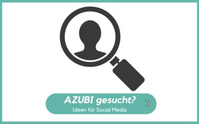 Azubi gesucht?