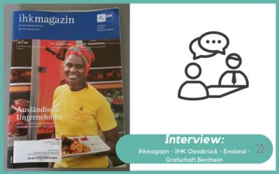 Interview: ihkmagazin